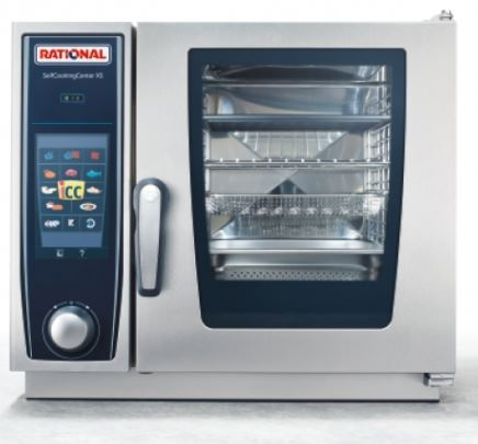 Forno a convenzione 6 teglie Rational Selfcooking center XS