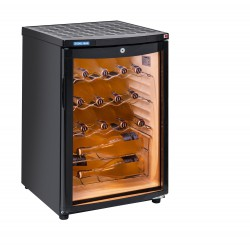 Cantinetta vino monotemperatura, LED blu Cool Head RCS 85