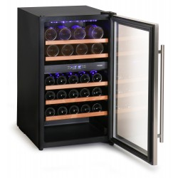 Cantinetta vino doppia temperatura 36 bottiglie, led blu Cool Head CW36DT
